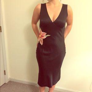 Betsey Johnson Black Silk Dress