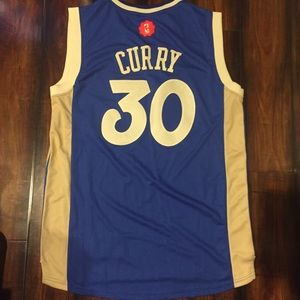 low priced feed2 758fb Stephen Curry Christmas Jersey Size XL NWT