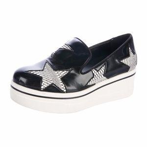 Stella McCartney Binx Star black/silver slip on