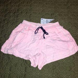 Zara drawstring lounge shorts