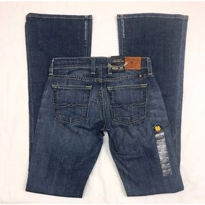 NWT Lucky BrandLil MaggieX-Long Super Low Jeans