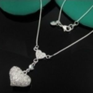 Jewelry - New 925 Sterling Silver Necklace Nn39