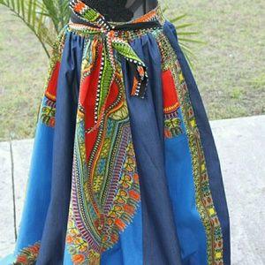 Dresses & Skirts - African dashiki skirt
