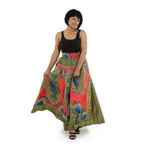 Dresses & Skirts - African dashiki skirt red