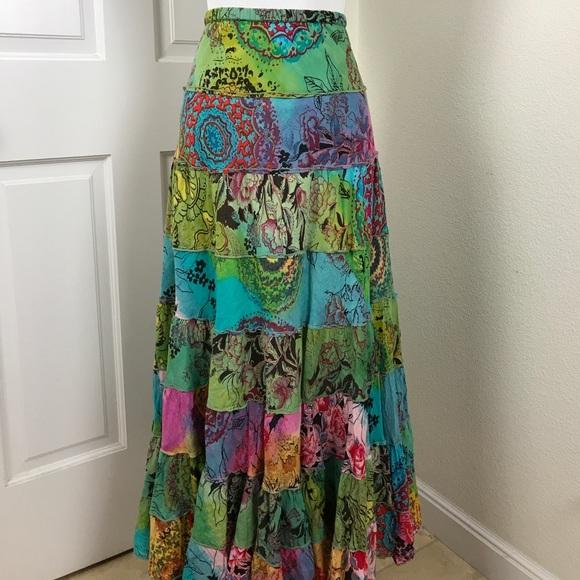 c359aec161 Bila Dresses & Skirts - Bila Bohemian Layered Hippie Skirt