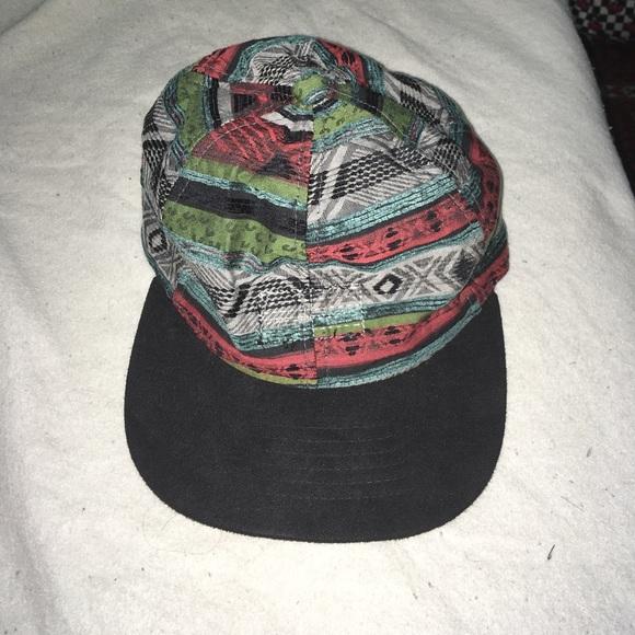 a83c2ea01d7 Obey leather strap back hat. M 5a0d51912599fe408c02713e