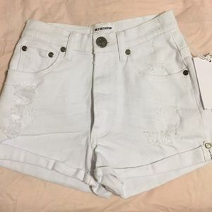 NWT One Teaspoon Shorts