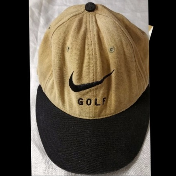 Vintage Nike Golf Strapback Baseball Cap Hat 8dfa06e4ffca