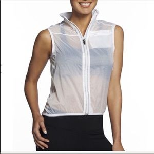 NEW FABLETICS ramela reflective zip vest jacket