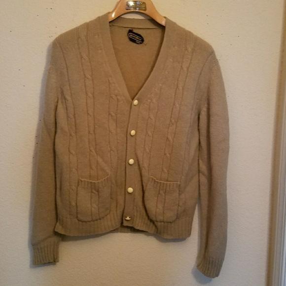 vintage Sears sweater jacket A54Kr79