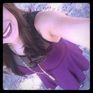 Dresses & Skirts - H&M DIVIDED brand Burgundy dress for sale!