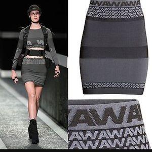 Alexander Wang X H&M skirt NWT!