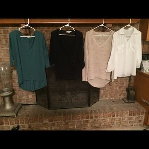 Tops - Lot/Bundle of Women's tops for Fall and winter!