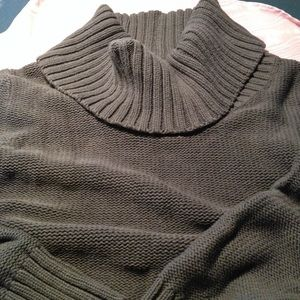 Oversized Comfy Turtleneck Sweater