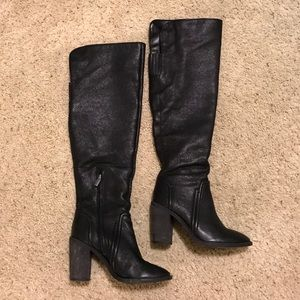 Vince Camuto Melaya Over the Knee Boot: 7.5, Black