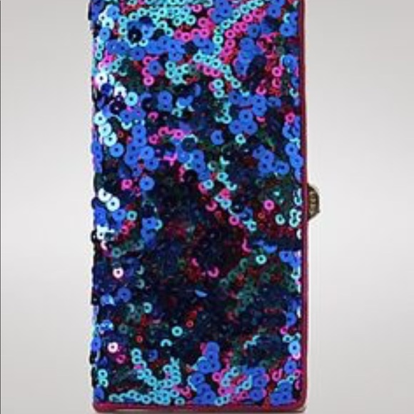 Lodis Accessories - 💗LODIS VEGAS SEQUIN CLUTCH/WALLET EXTREMELY RARE!
