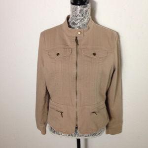 Apostrohe stretch zip jacket