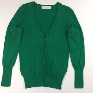 Zara Knit Cardigan Sweater Size Large