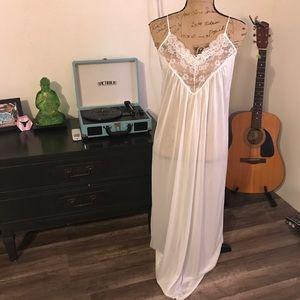 Vintage maxi slip dress