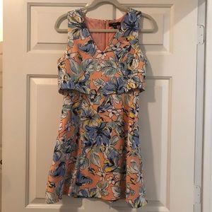 Floral cutest cut dress!!!!!