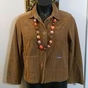 Duck Head Tan Corduroy Jacket