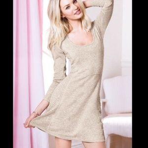 Victoria's Secret Pointelle Sweater Dress