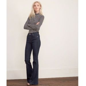 Women's Abercrombie & Fitch High Rise Flare Sz 00
