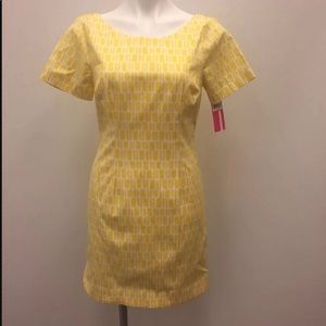 Plenty by Tracy Reese Nwt yellow patterned dress