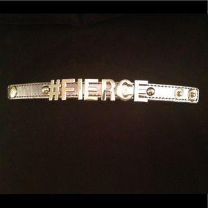 "BCBG ""FIERCE"" Affirmation bracelet"
