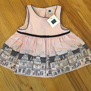 NWT 100% cotton girls 2t Janie and Jack dress.