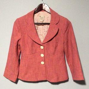 🐞 Nanette Lepore Tweed Blazer