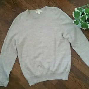 BROOKS BROTHERS  wool sweater L