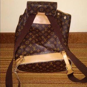 Louis Vuitton book bag