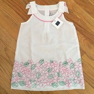 NWT 100% cotton 2t girl Janie and Jack dress.