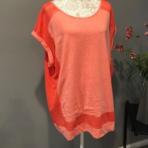 MARC NEW YORK 2X Top ORANGE/CORAL NWT