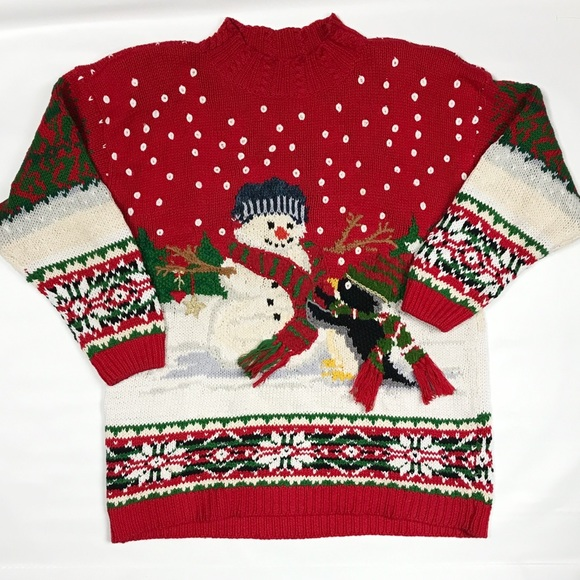 lord and taylor vintage christmas sweater - Vintage Christmas Sweater