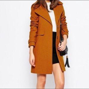 Asos coats with 70s collar