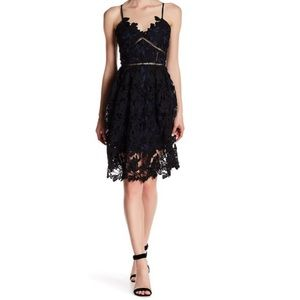 Romeo & Juliet Couture Woven Lace Dress