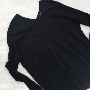 Ann Taylor Double V Neck Sweater