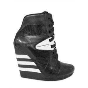 ISO Y-3 wedge sneakers