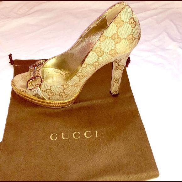 a7e38b7cf Gucci Shoes - Gucci Guccissima Pumps Made in Italy