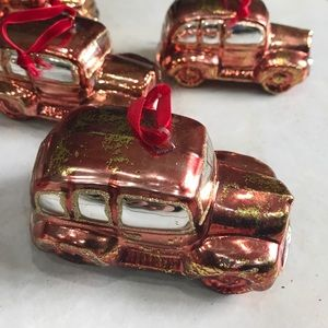 Other - Cars Christmas decorations , 6 pieces
