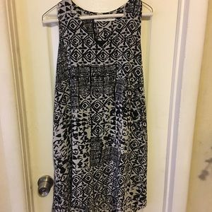 Adorable patterned tunic dress