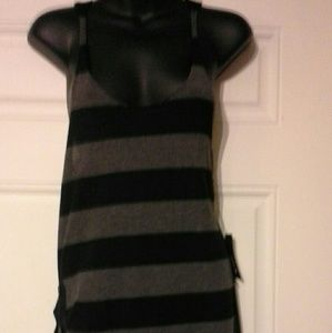 Hurley dress nwt black/gray large
