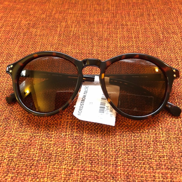 2939f8e019 NWT Joe s Jeans Round Sunglasses - Tortoise Shell