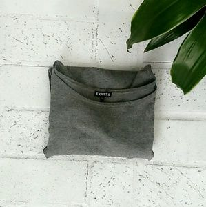 Sweaters - Gray sweater XS