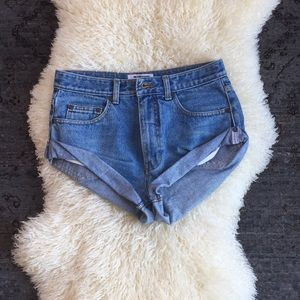Vintage One Teaspoon Bandits Denim Shorts