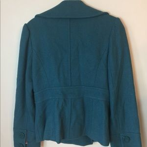 Halogen Jackets & Coats - Halogen teal Wool Coat m