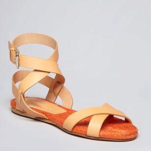 •Ralph Lauren Collection• Maria Ankle Strap Sandal