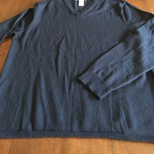 Men's Navy Italian merino wool Gap sweater